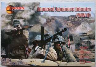 Mars 1/72 MAR72107 Imperial Japanese Infantry (WW2)